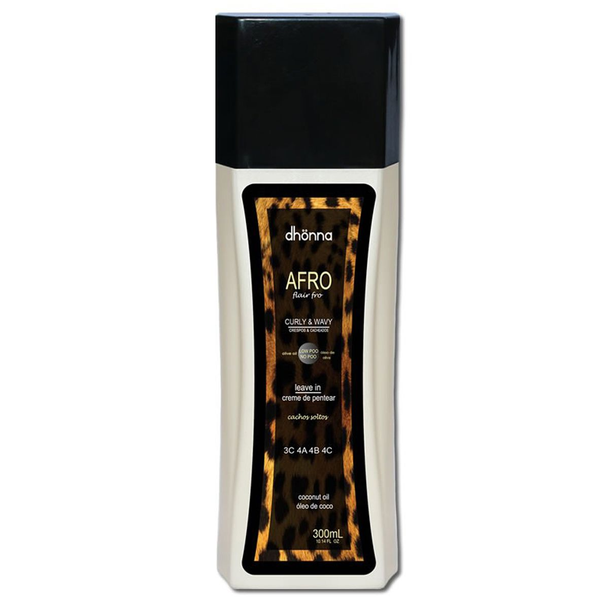 Dhonna - Afro  - Leave-in - 3C 4A 4B 4C -  300ml