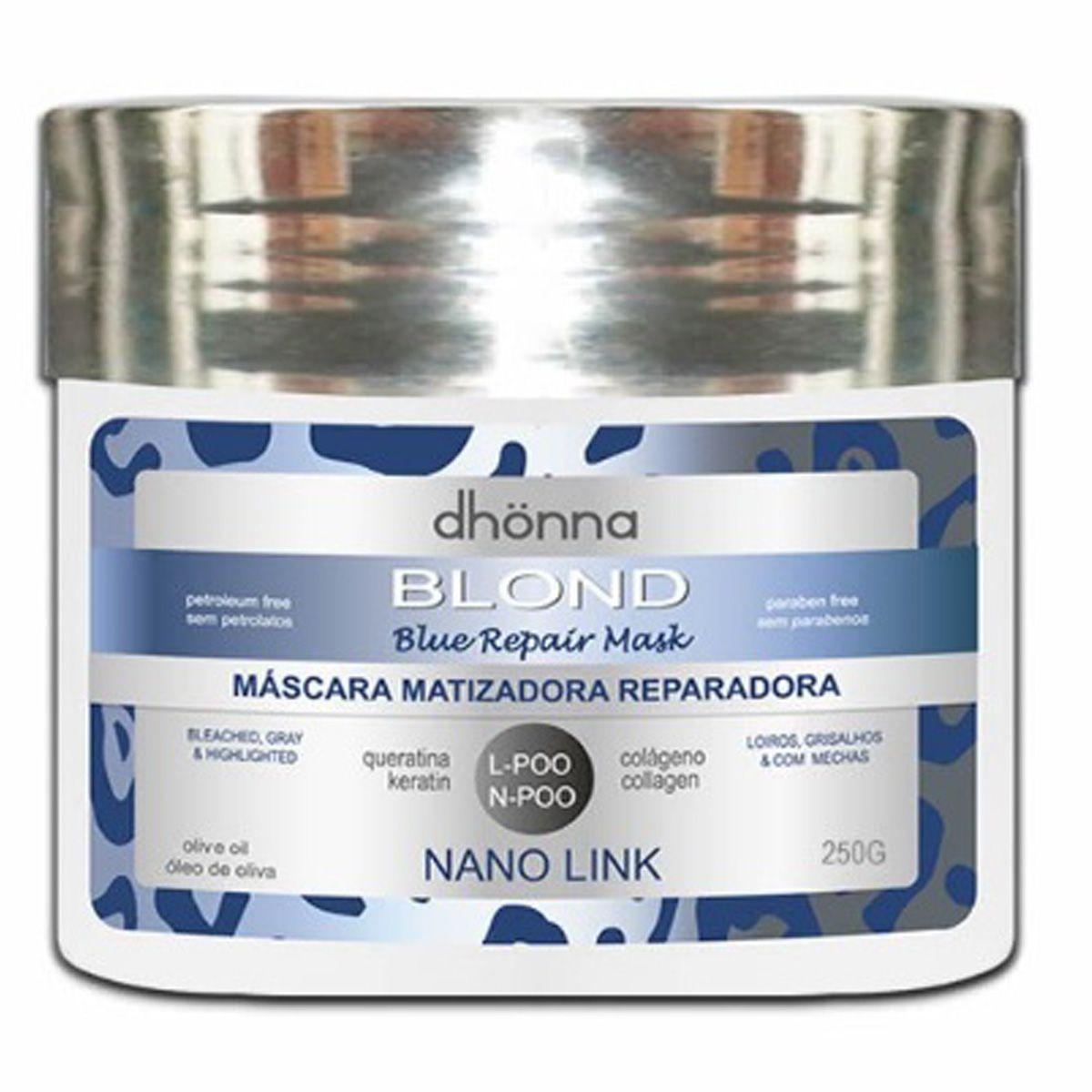 Dhonna - Blond - Máscara Matizadora - 250g