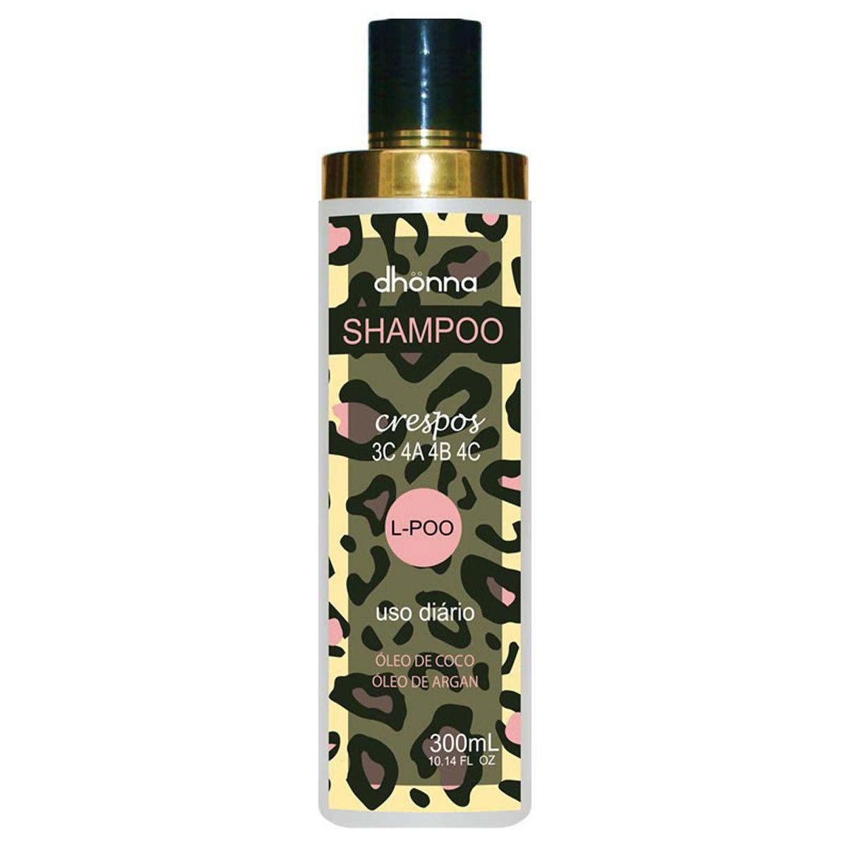 Dhonna - Shampoo L-Poo - Crespos - 300ml