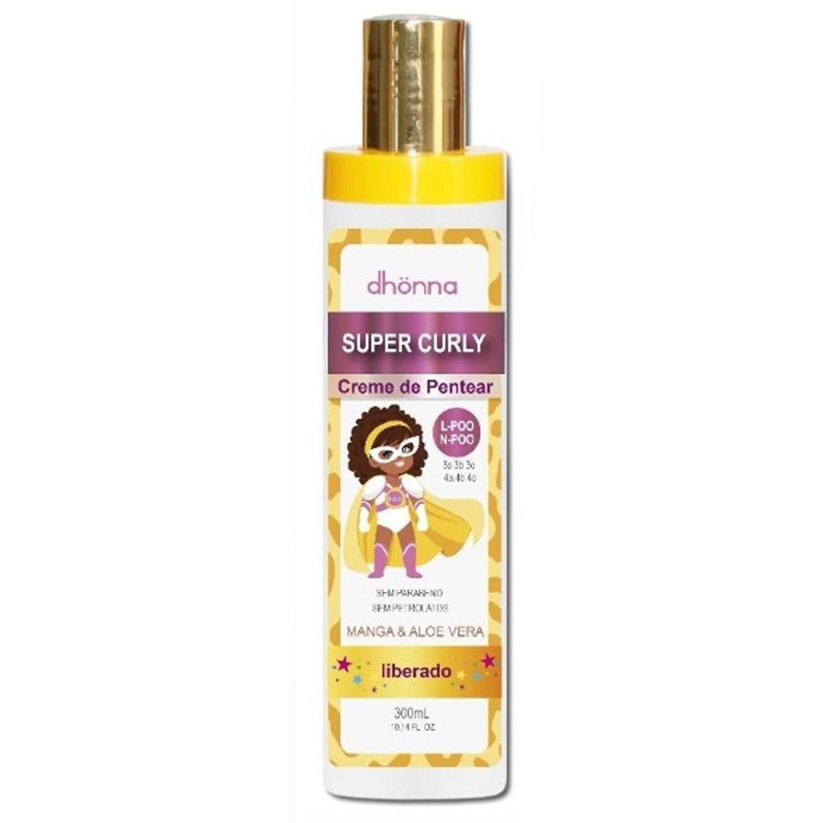 Dhonna - Super Curly - Creme de Pentear - 300ml