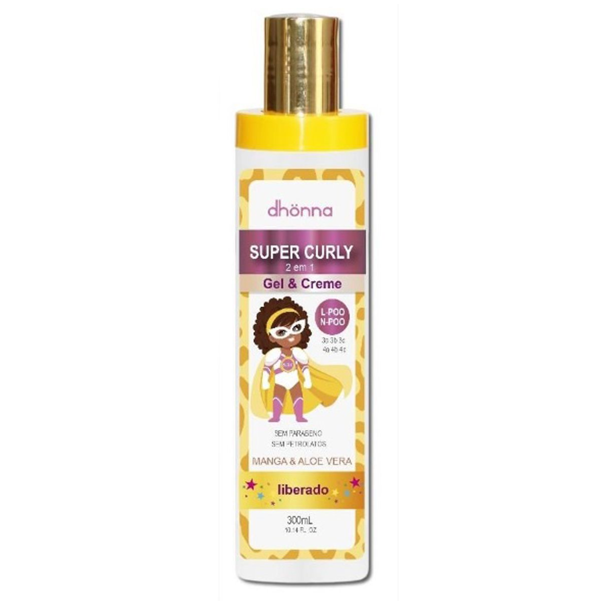 Dhonna - Super Curly - Gel & Creme - 300ml