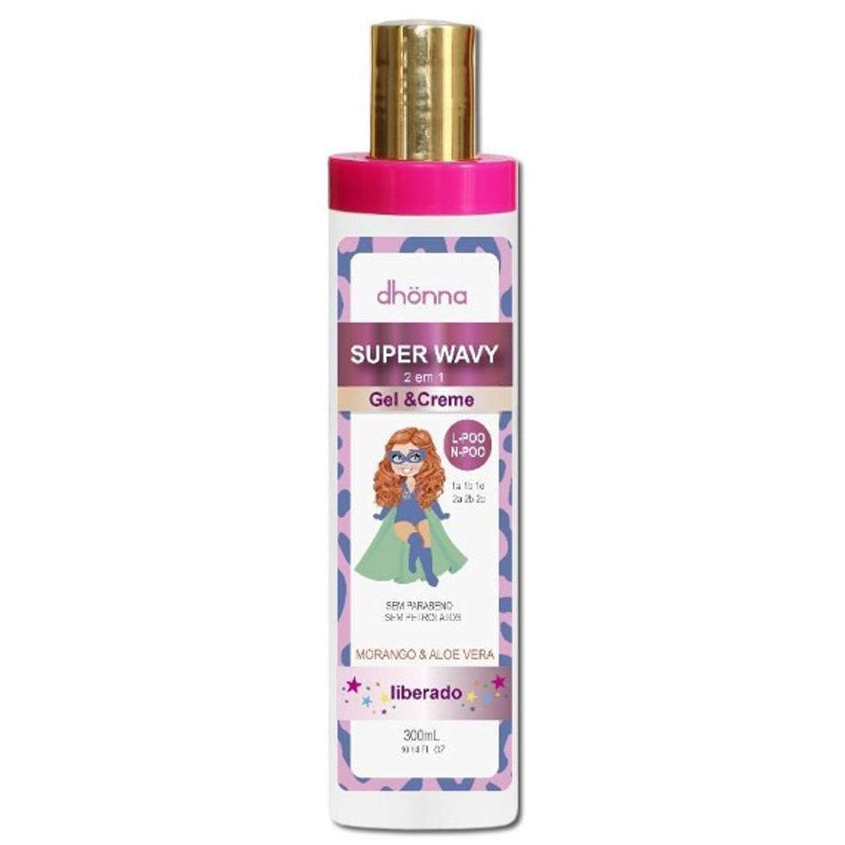 Dhonna - Super Wavy - Gel & Creme - 300ml
