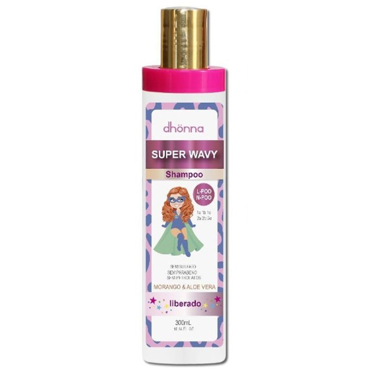 Dhonna - Super Wavy - Shampoo - 300ml
