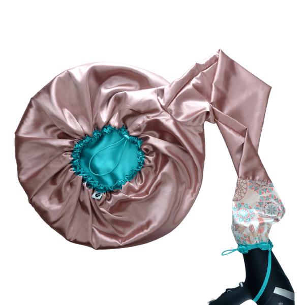 Difusora Touca de Cetim Luxo - Anti Frizz - Apanhador de Sonhos