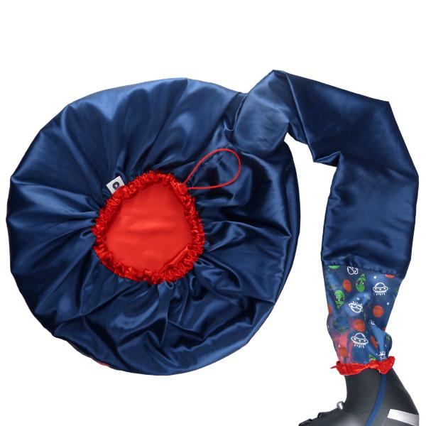 Difusora Touca de Cetim Luxo - Anti Frizz - Et / Extraterrestre