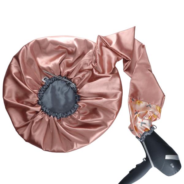 Difusora Touca de Cetim Luxo - Anti Frizz - Princesa Guerreira