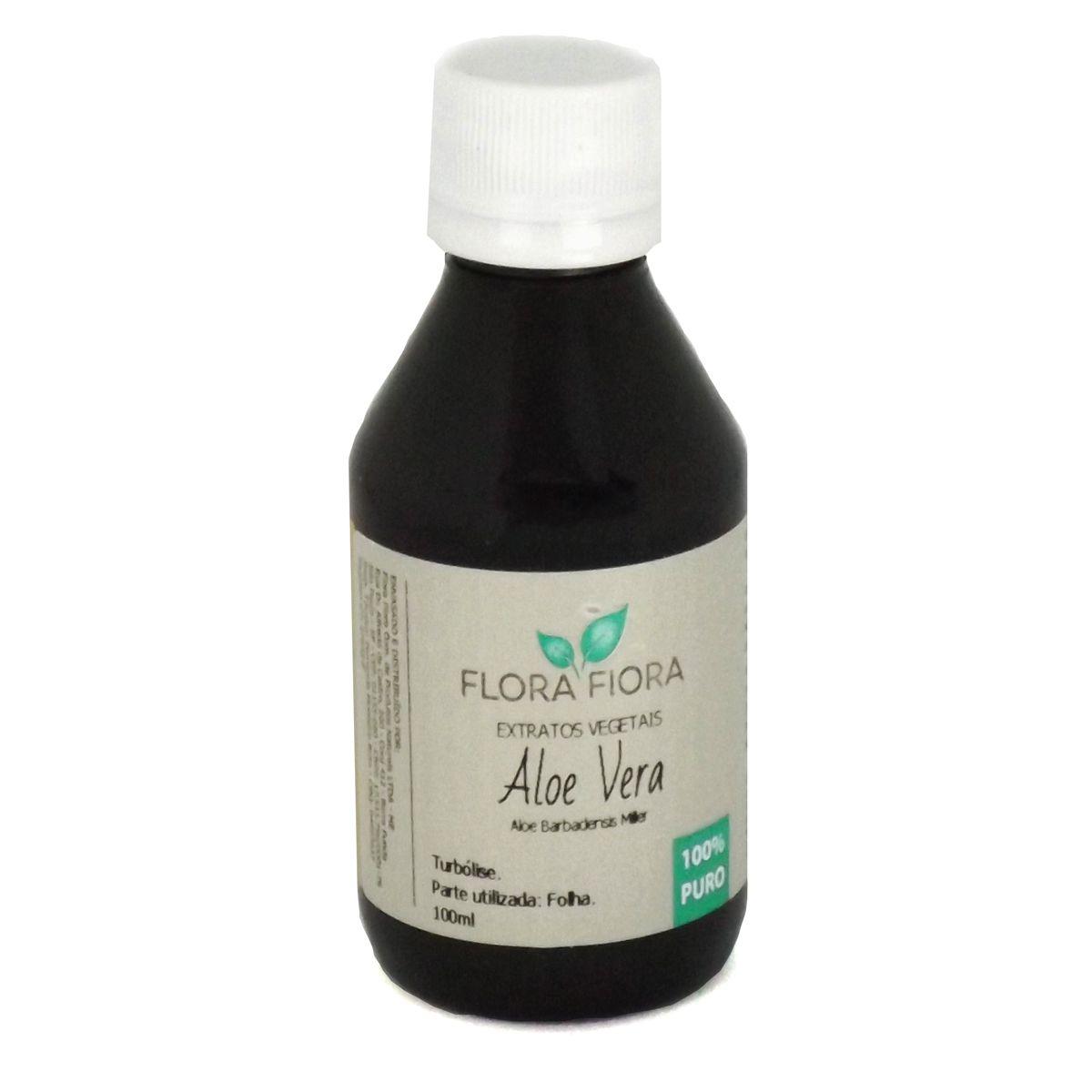 Extrato Vegetal de Aloe Vera 100ml