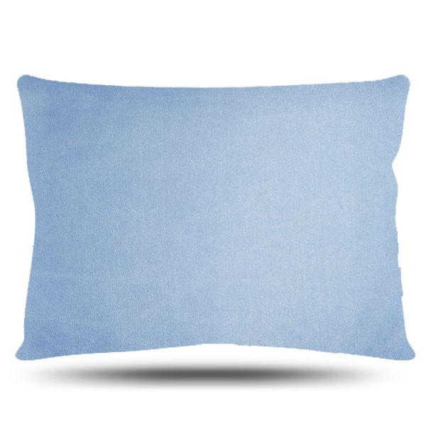 Fronha de Cetim - Azul Claro - Anti Frizz