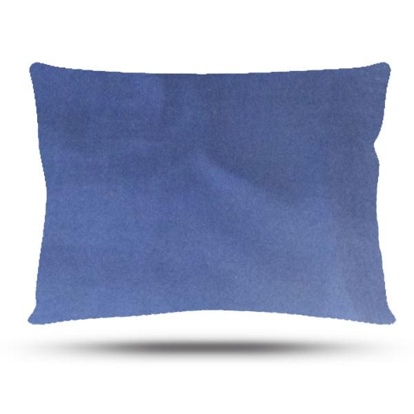Fronha de Cetim - Azul Marinho - Anti Frizz