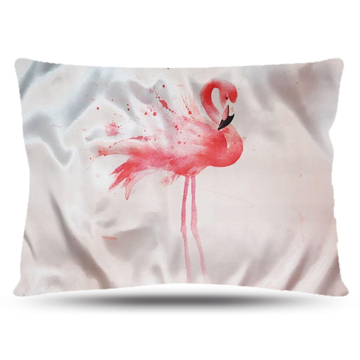 Fronha de Cetim - Flamingo - Anti Frizz