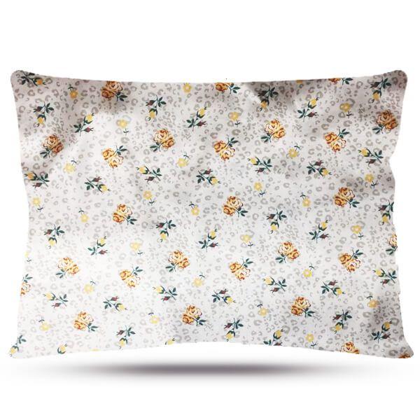 Fronha de Cetim - Floral I - Anti Frizz