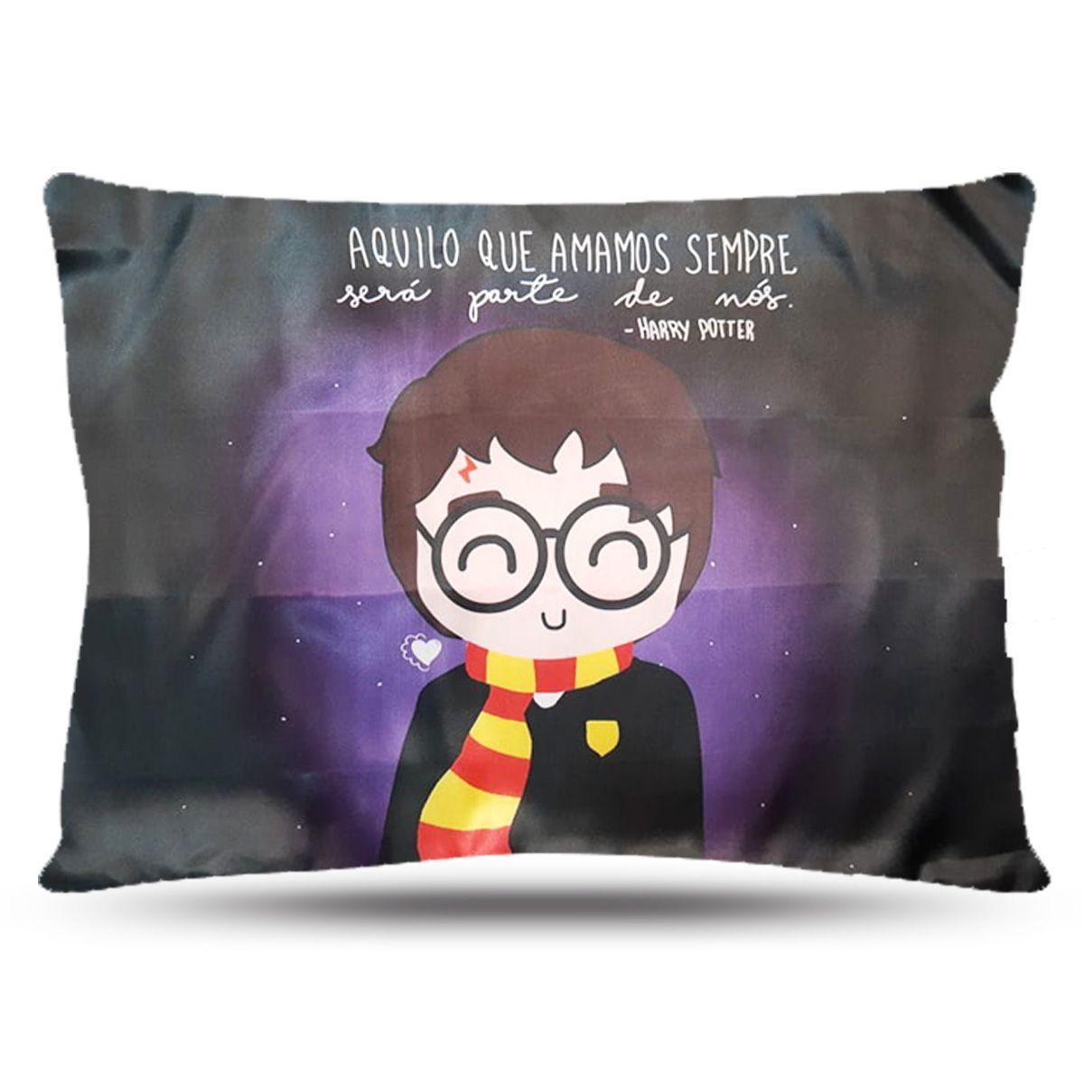 Fronha de Cetim - Harry Potter - Anti Frizz
