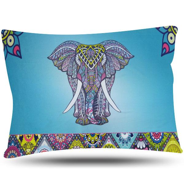 Fronha de Cetim Luxo - Elefante - Anti Frizz