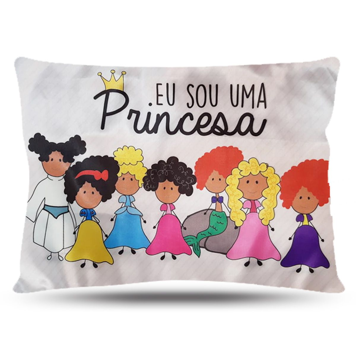 Fronha de Cetim - Princesas - Anti Frizz