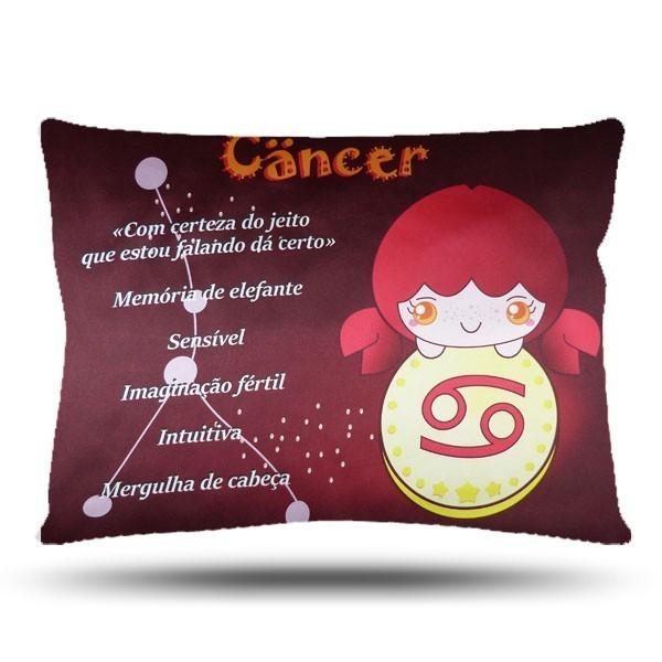 Fronha de Cetim - Signos do Zodíaco - Câncer - Anti Frizz