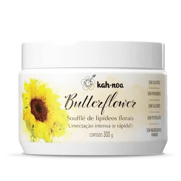 Kah-Noa - Butterflower - Máscara Umectante - 300g