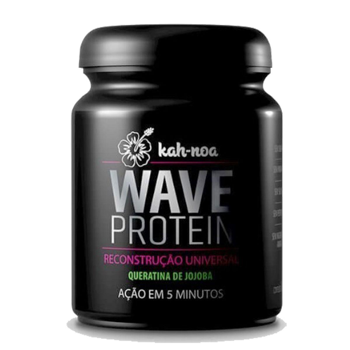 Kah-Noa - Wave Protein - Máscara Suplemento Capilar -300g
