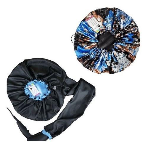 Kit 1 Difusora Azul Claro e 1 Touca Floral Azul II