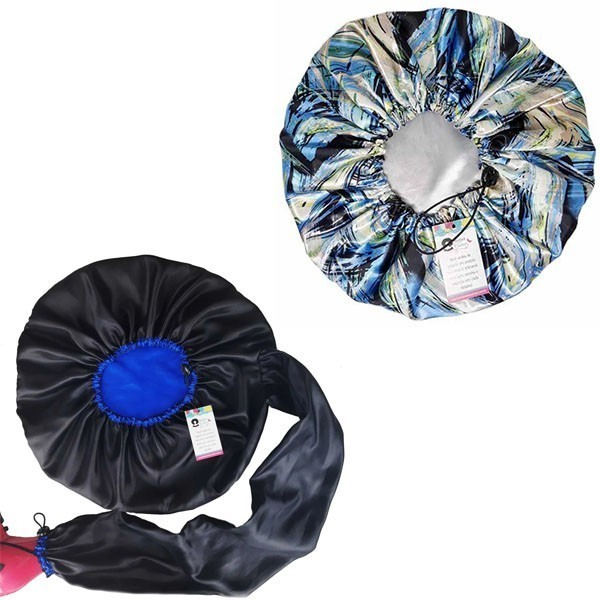 Kit 1 Difusora Azul e 1 Touca Abstrata B