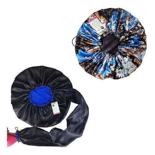 Kit 1 Difusora Azul e 1 Touca Floral Azul II