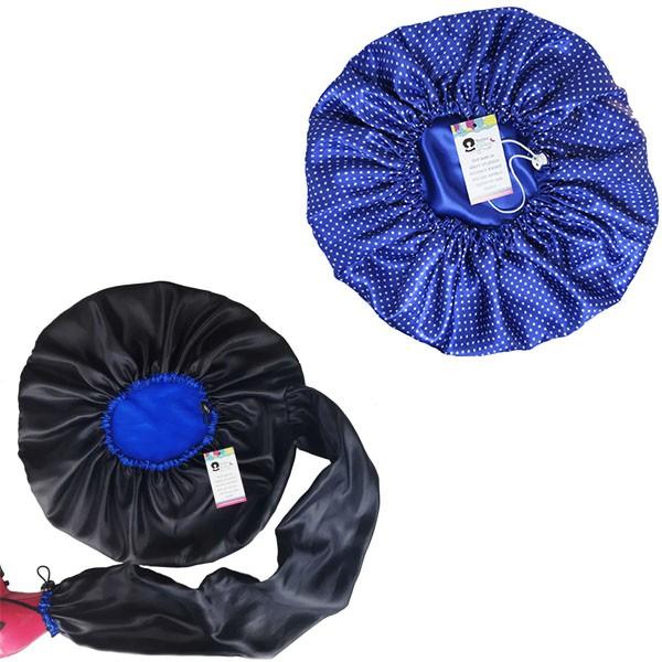 Kit 1 Difusora Azul e 1 Touca Poá Azul Royal