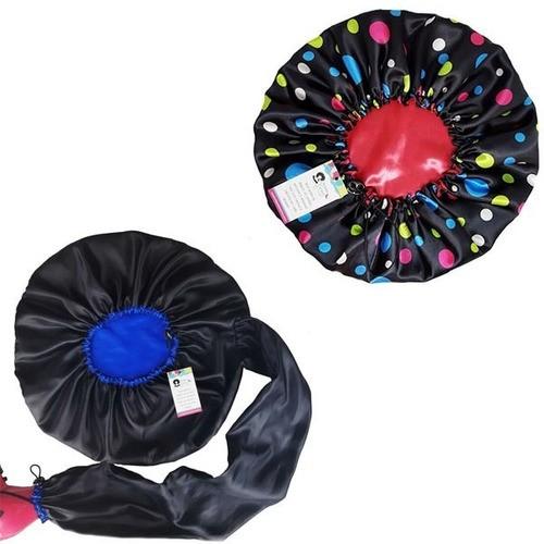 Kit 1 Difusora Azul e 1 Touca Poá Colorido