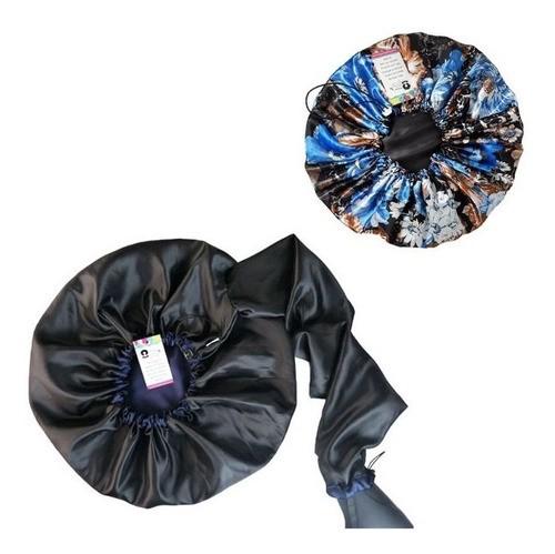 Kit 1 Difusora Azul Marinho e 1 Touca Floral Azul II