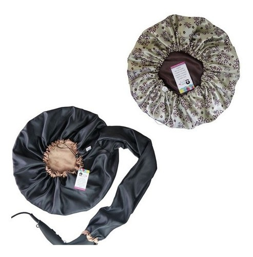 Kit 1 Difusora Bege e 1 Touca Floral Animal