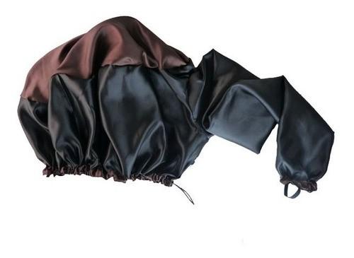 Kit 1 Difusora Marrom - 1 Touca Camuflada e 1 Fronha Camuflada