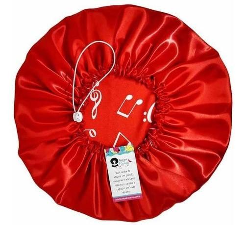 Kit 1 Difusora Melancia e 1 Touca Musical Vermelho