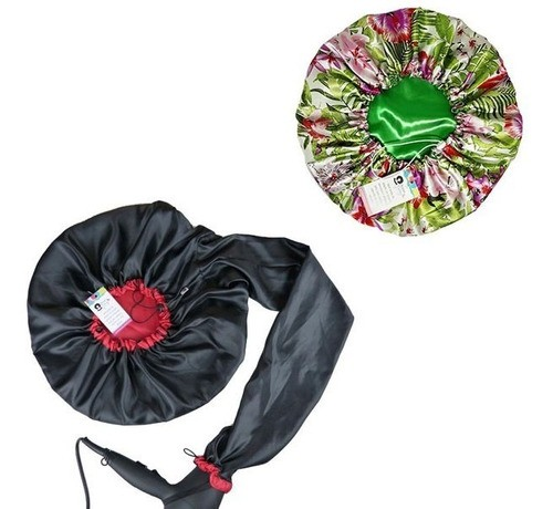 Kit 1 Difusora Melancia e 1 Touca Verde Floral