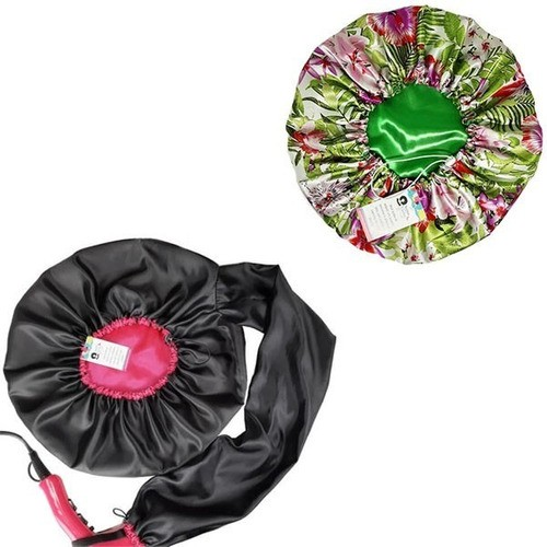 Kit 1 Difusora Pink e 1 Touca Verde Floral