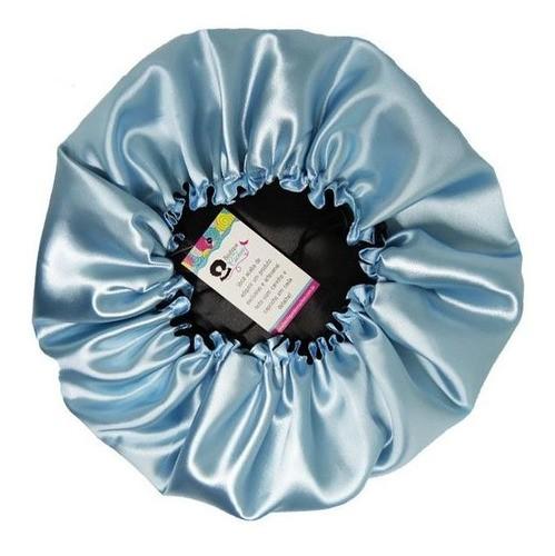 Kit 1 Difusora Prata - 1 Touca Azul Claro e 1 Xuxinha Preta