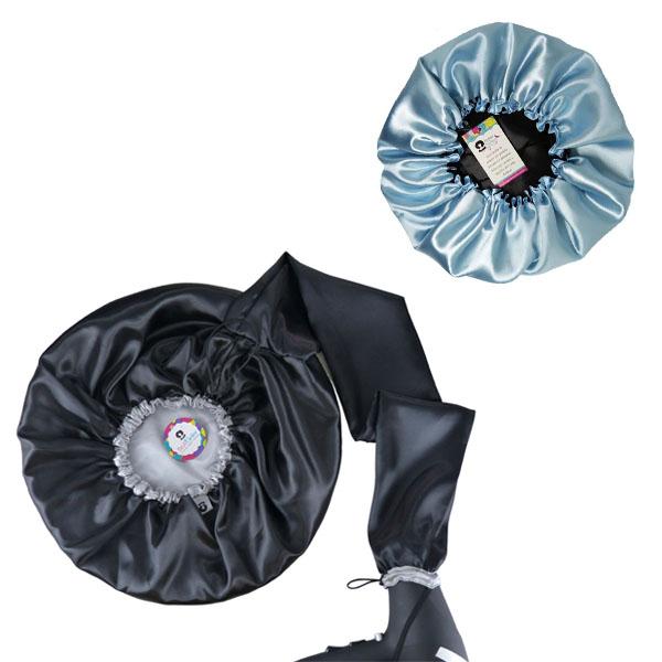Kit 1 Difusora Prata e 1 Touca Azul Claro