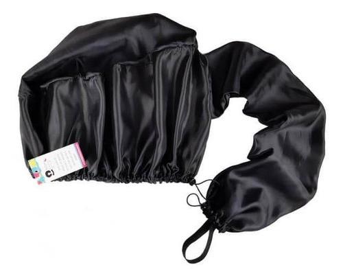 Kit 1 Difusora Preta - 1 Touca Rosa Chiclete e 1 Xuxinha Preta