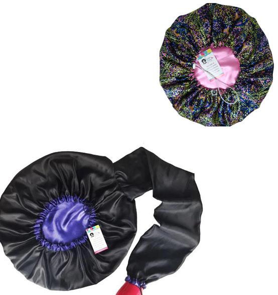 Kit 1 Difusora Roxo e 1 Touca Borboletas Rosa