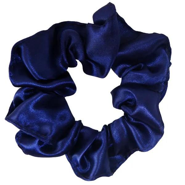 Kit 1 Touca Poá Azul Royal e 1 Xuxinha Azul Escuro