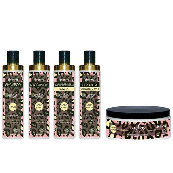 Kit Cachos - 5 produtos - Dhonna