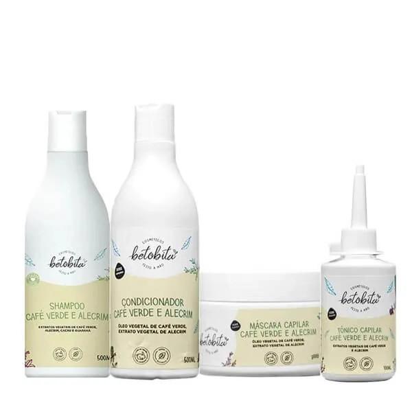 Kit Café Verde e Alecrim - BetoBita - Com Shampoo