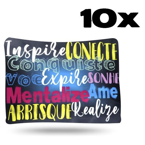 Kit com 10 Fronhas de Cetim - Inspiração