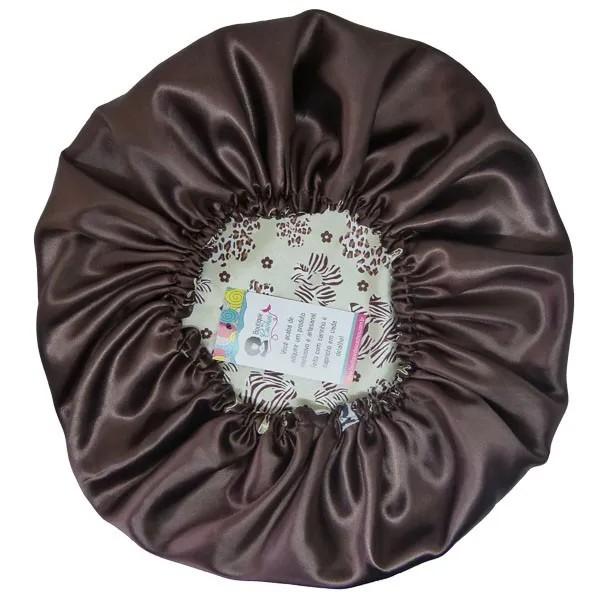Kit com 10 Toucas de Cetim - Floral Animal