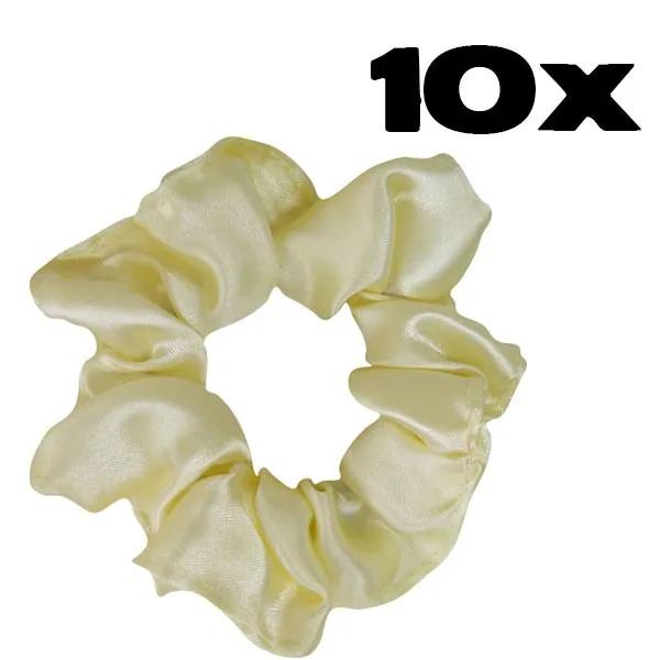 Kit com 10 Xuxinhas de Cetim - Creme