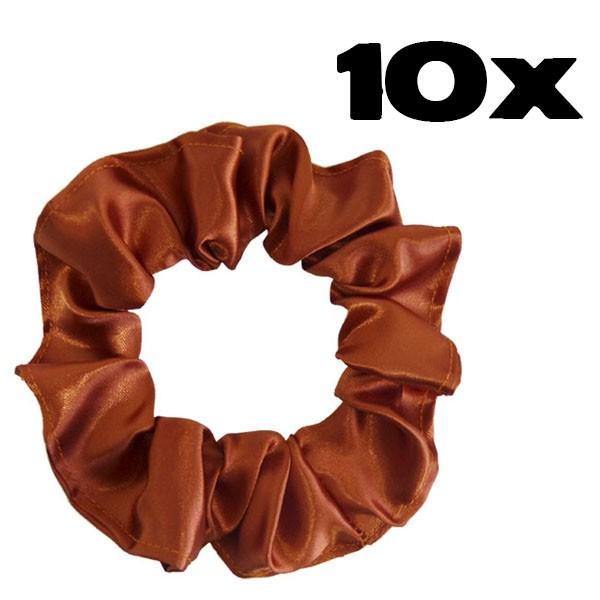 Kit com 10 Xuxinhas de Cetim - Ferrugem