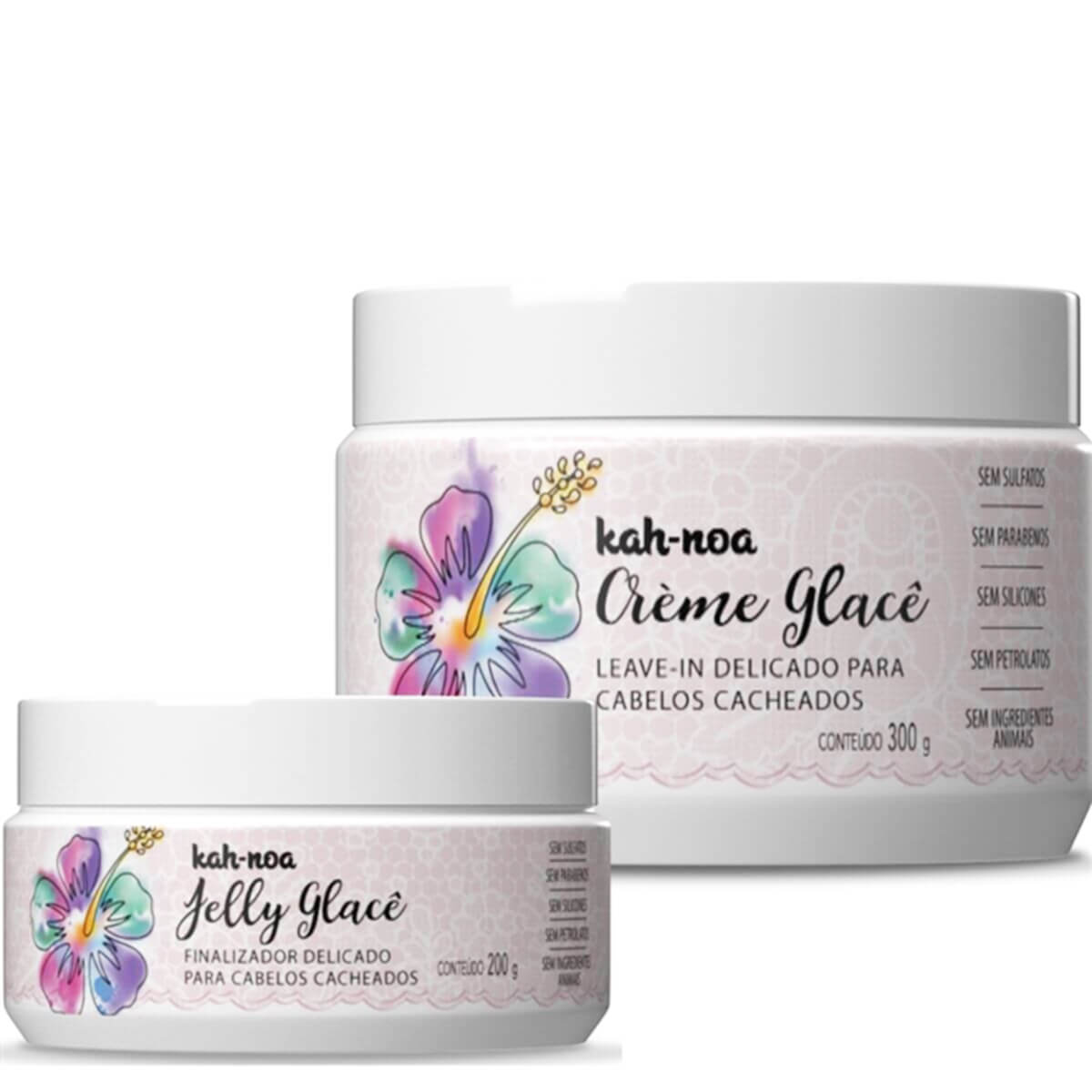 Kit Creme e Jelly Glacê - Kah-Noa