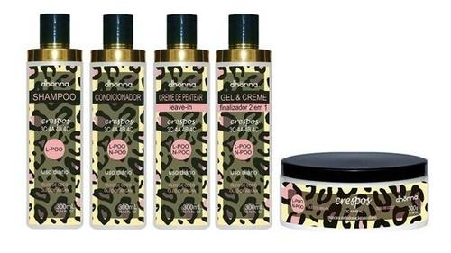 Kit Crespos - 5 produtos - Dhonna