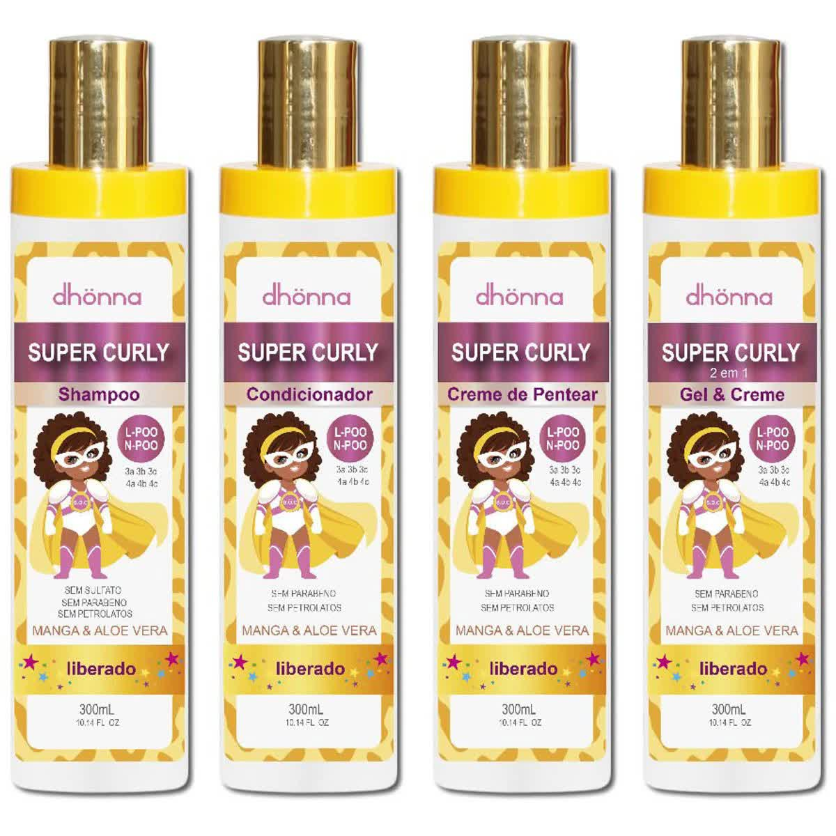 Kit Super Curly - Dhonna