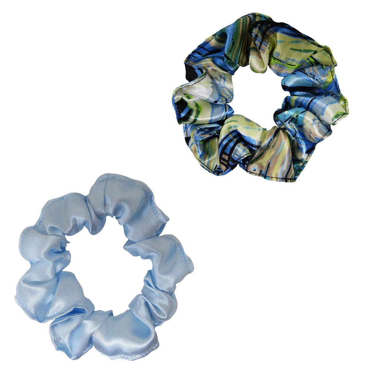 Kit Xuxinhas - Abstrata B e Azul Claro - Anti Frizz