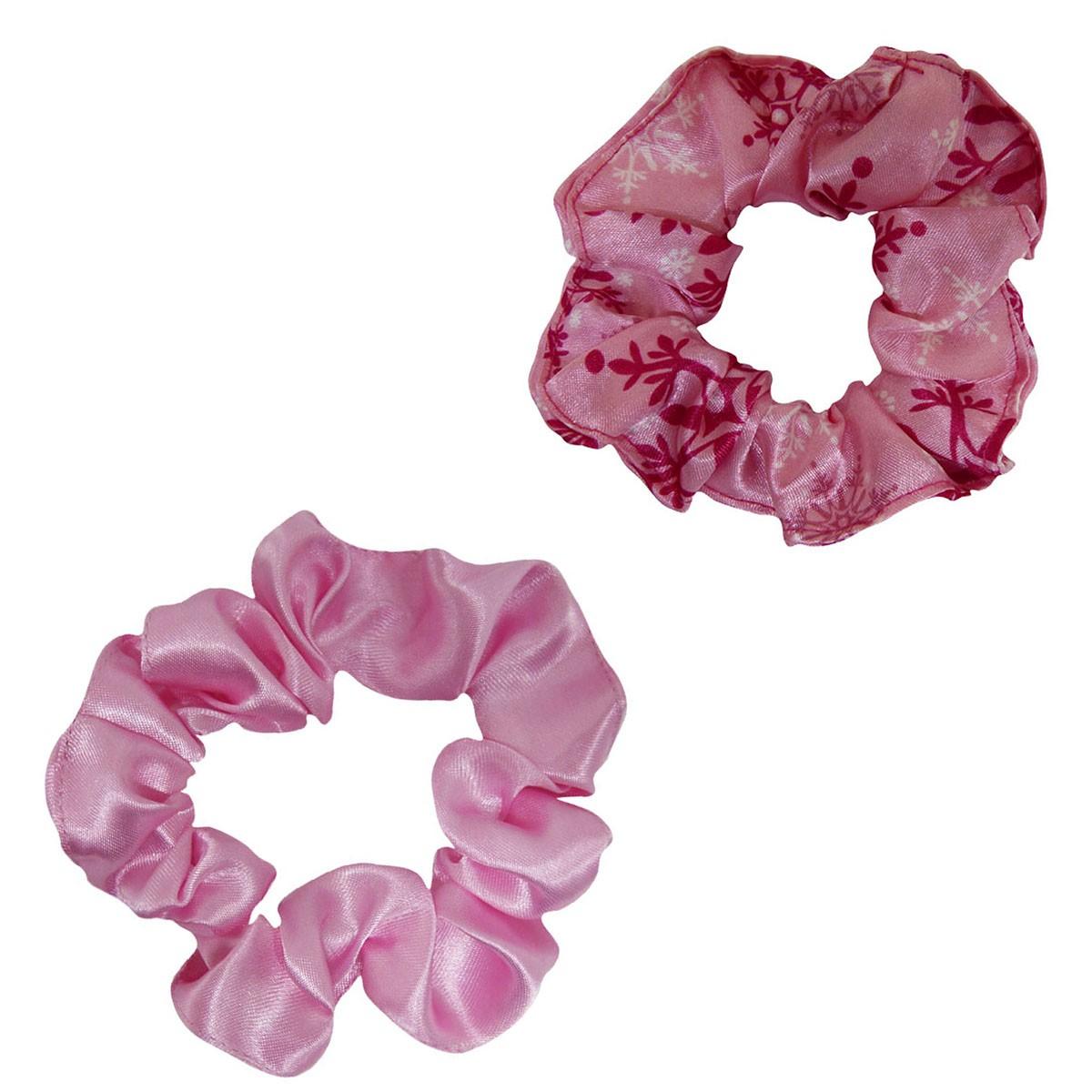 Kit Xuxinhas - Flocos Rosa e Rosa Bebê - Anti Frizz