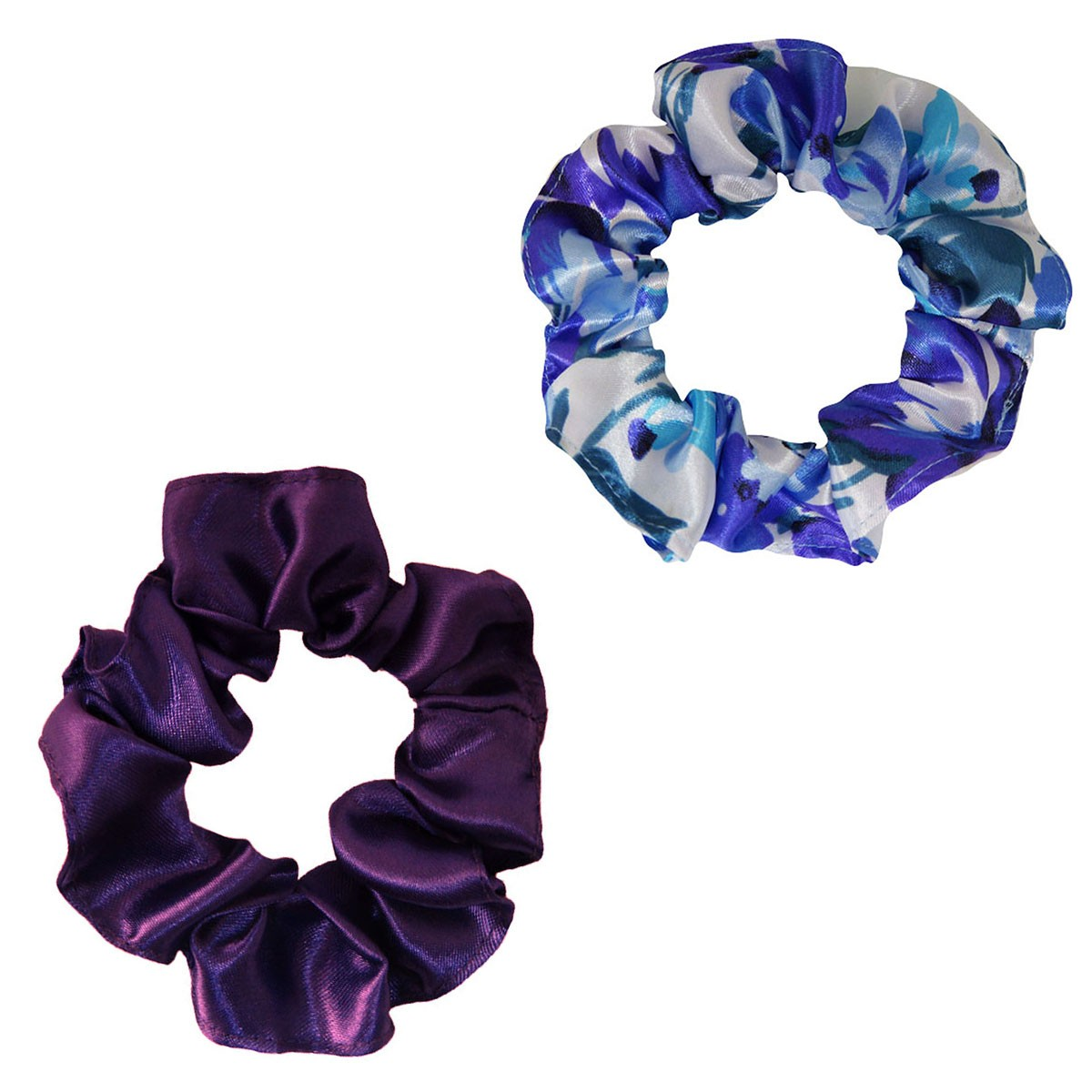 Kit Xuxinhas - Floral Azul I e Roxo - Anti Frizz