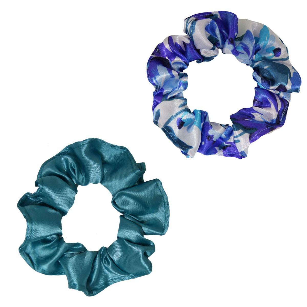 Kit Xuxinhas - Floral Azul I e Verde Jade - Anti Frizz